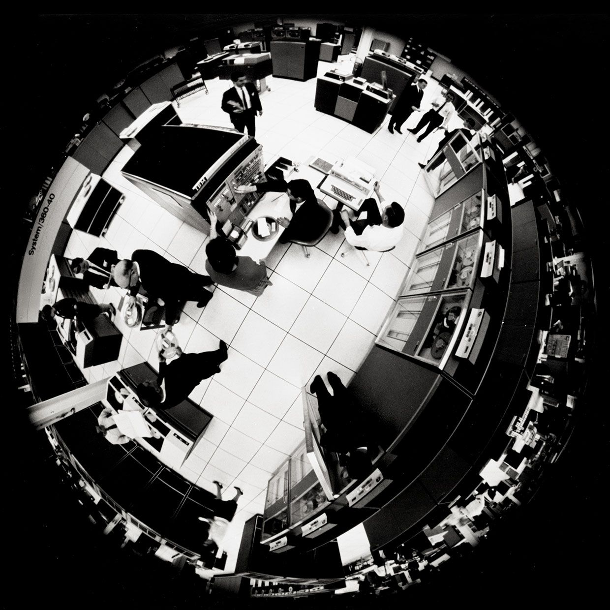Fisheye view of the IBM System 360