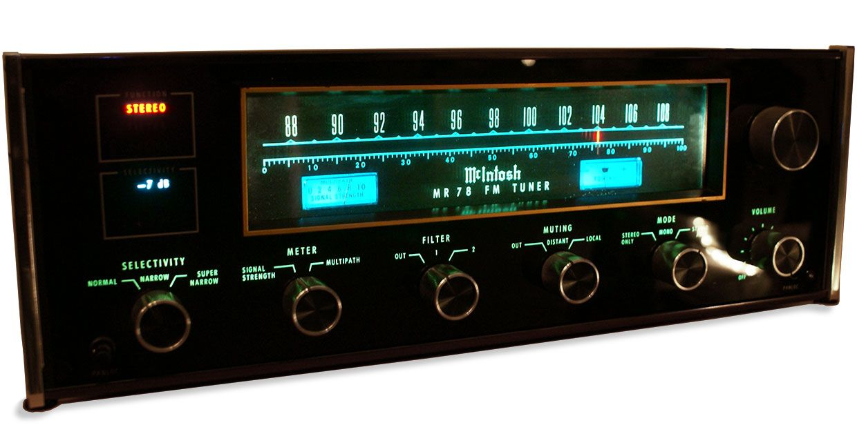 The McIntosh MR 78