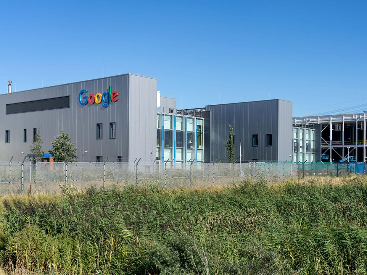 Google Data Center in the Netherlands