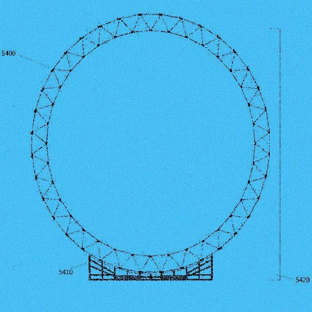 """Image from LTA patent showing its """"rollercoaster"""" airship construction technique"""