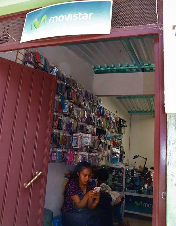 Movistar store