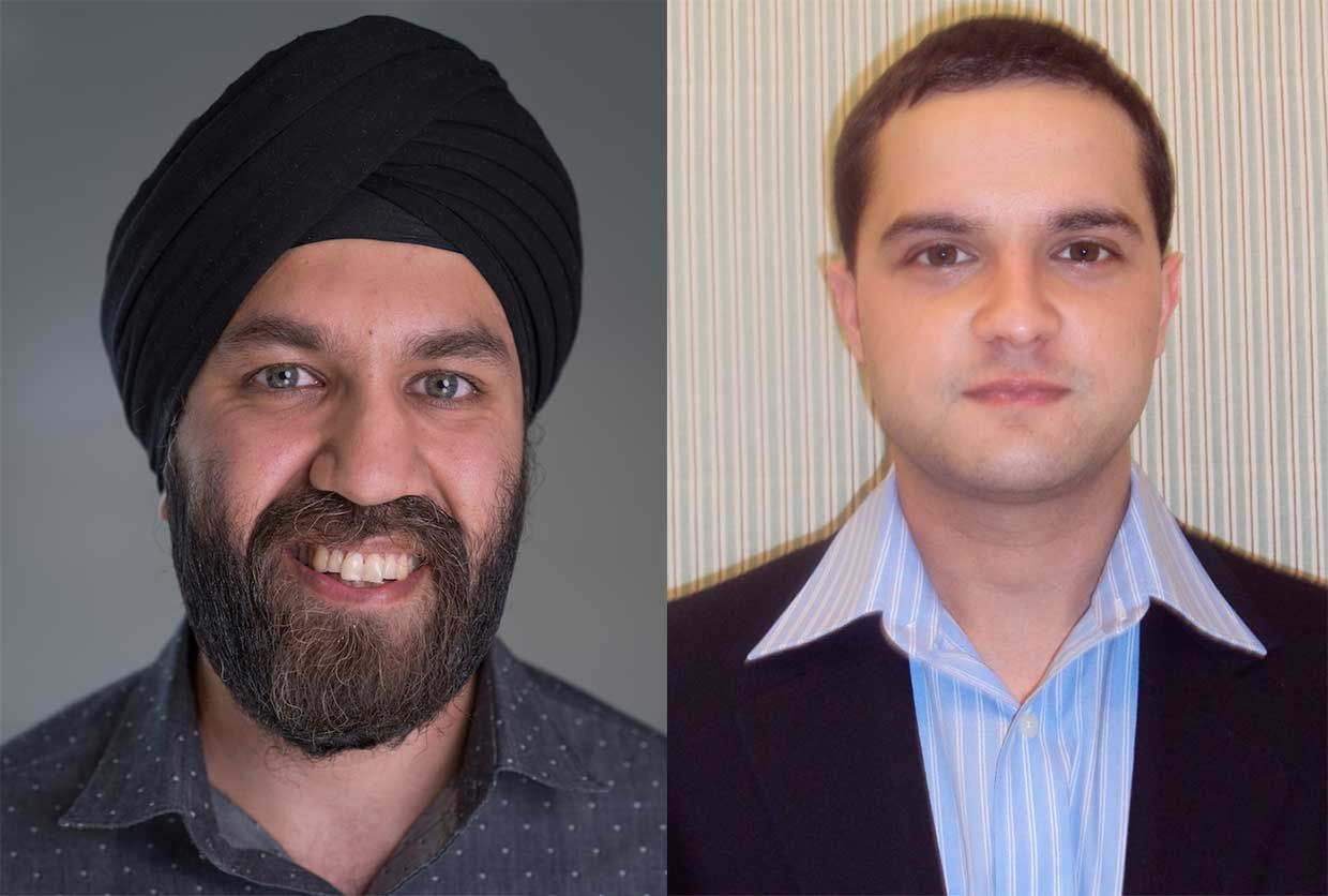 Left: Dilpreet Buxi; Right: Alexander Senior