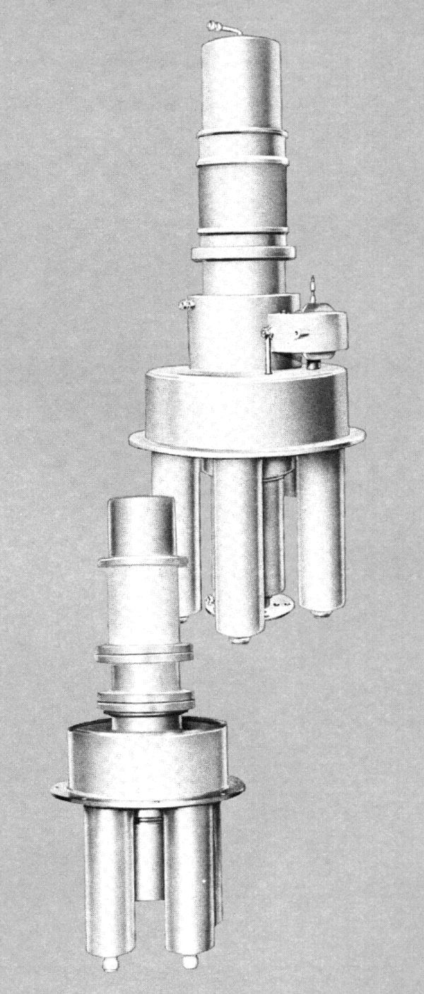 Photo of a Coaxitron