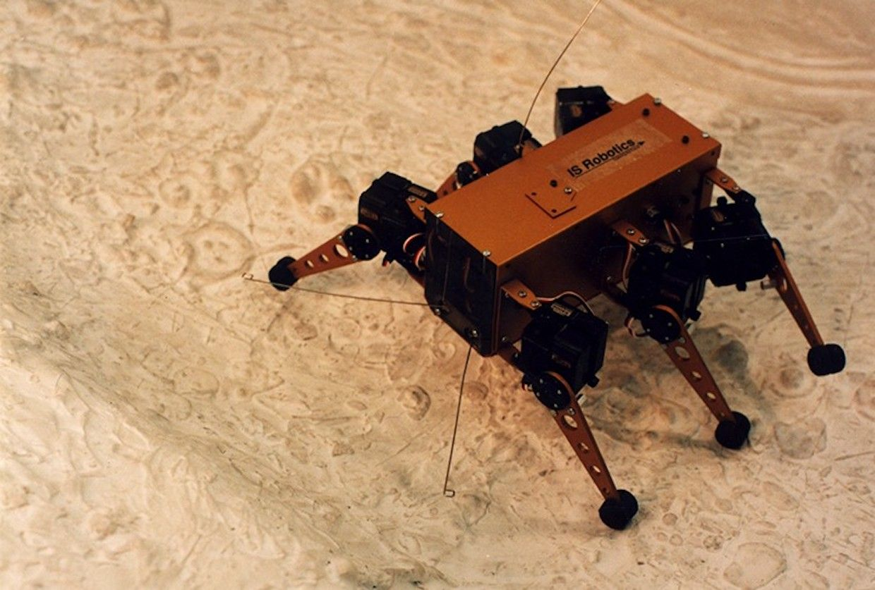 Build a Rover, Send It to the Moon, Sell the Movie Rights: 30 Years of iRobot