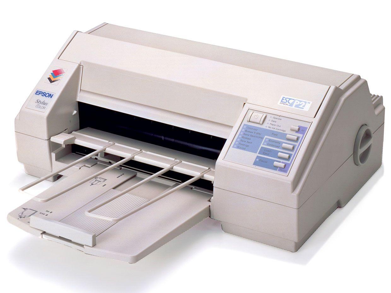 The Stylus Color printer.