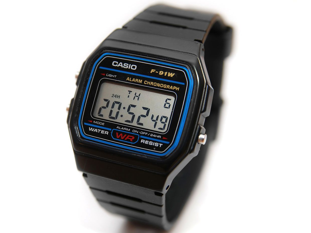 The Consumer Electronics Hall of Fame: Casio F-91W Wristwatch