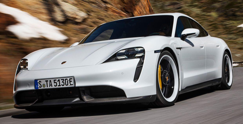 Photo of Porsche Taycan.