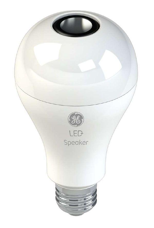 GE's LED speaker bulb