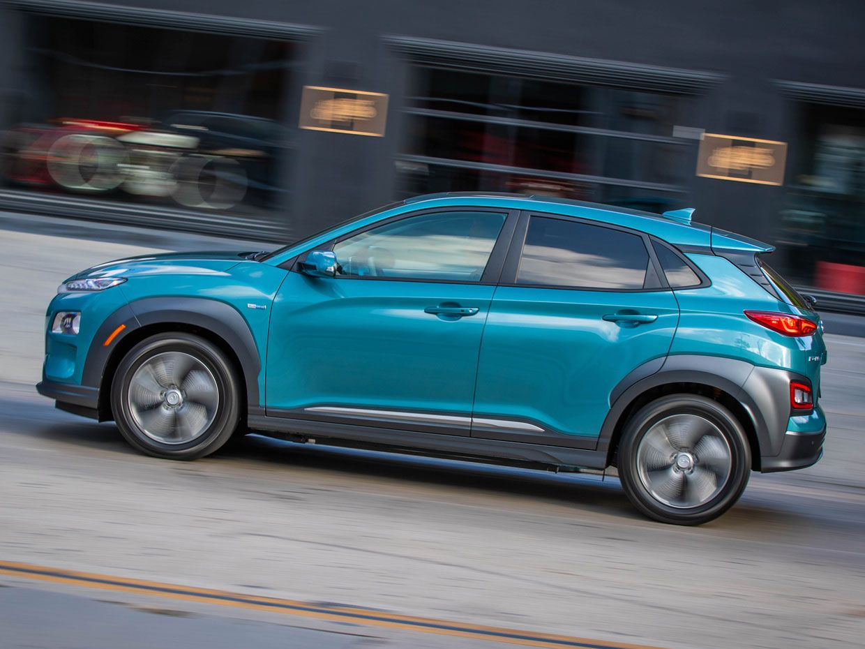 Photo Of A Hyundai Kona Electric