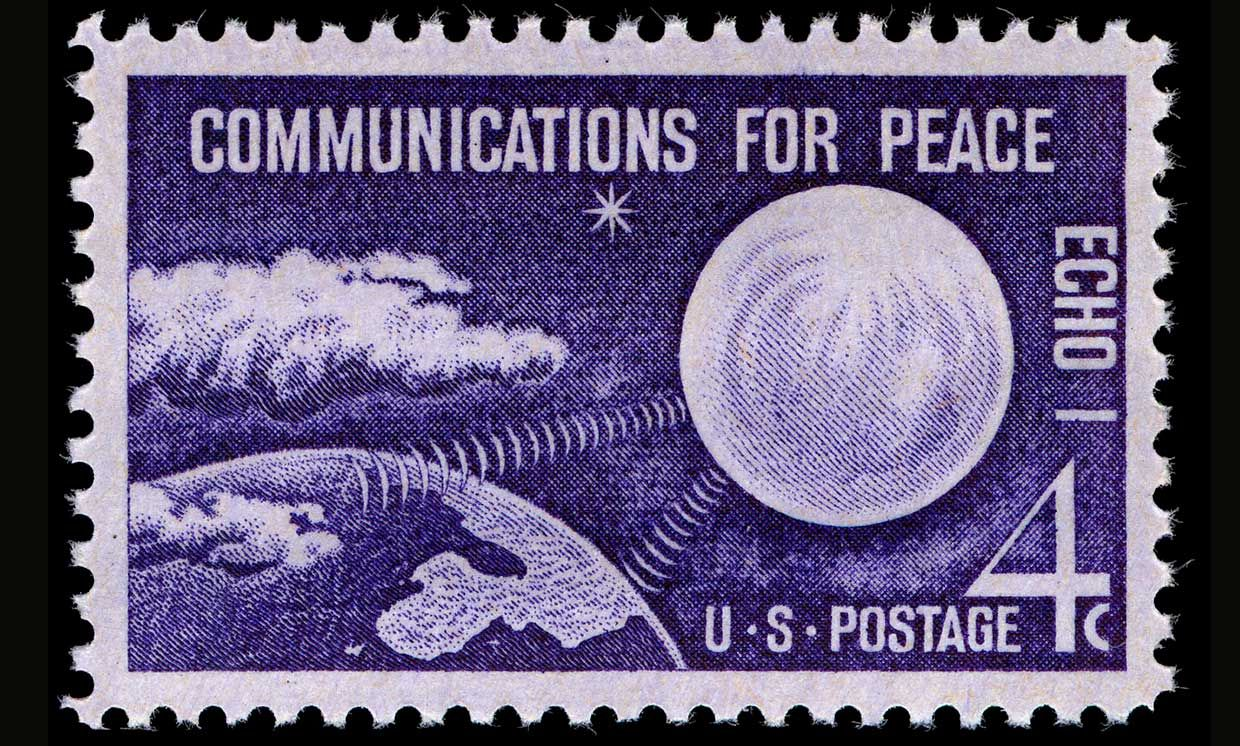 Photo of a stamp