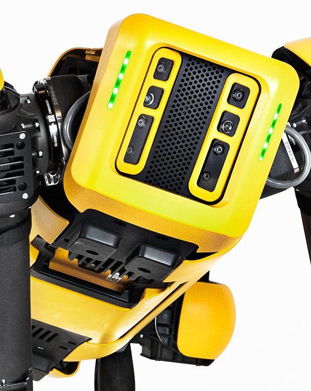 Boston Dynamics' Spot sensors