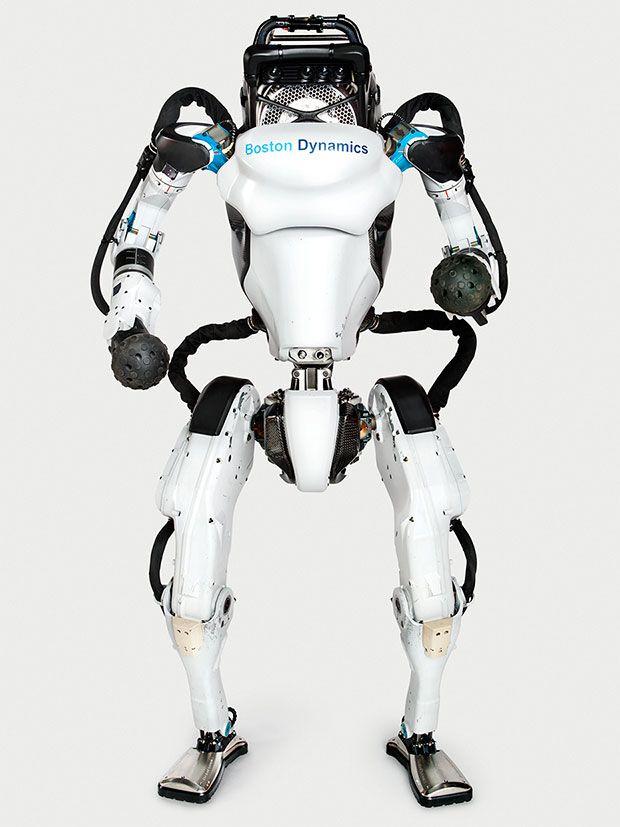 Boston Dynamics' Atlas robot standing