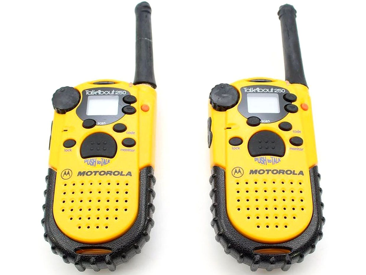 The Consumer Electronics Hall of Fame: Motorola T250 Talkabout Walkie-Talkies