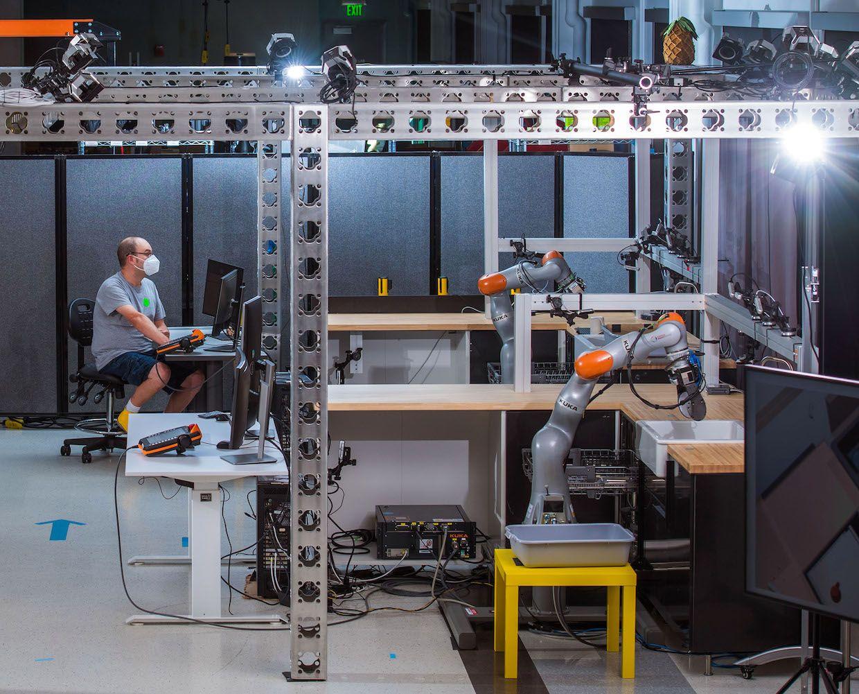 Aprendizaje de robots Toyota