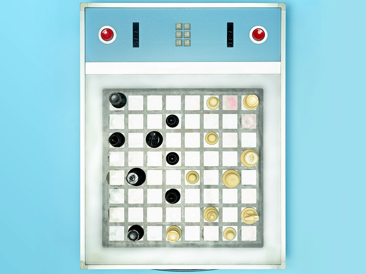 Belle was a winning chess-playing computer developed at Bell Labs in the early 1970s.
