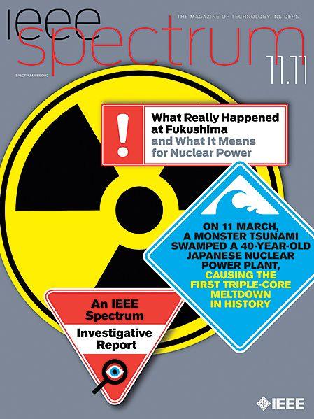 Cover of IEEE Spectrum magazine.