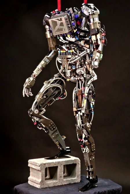 Boston Dynamics PETMAN Humanoid Robot Video