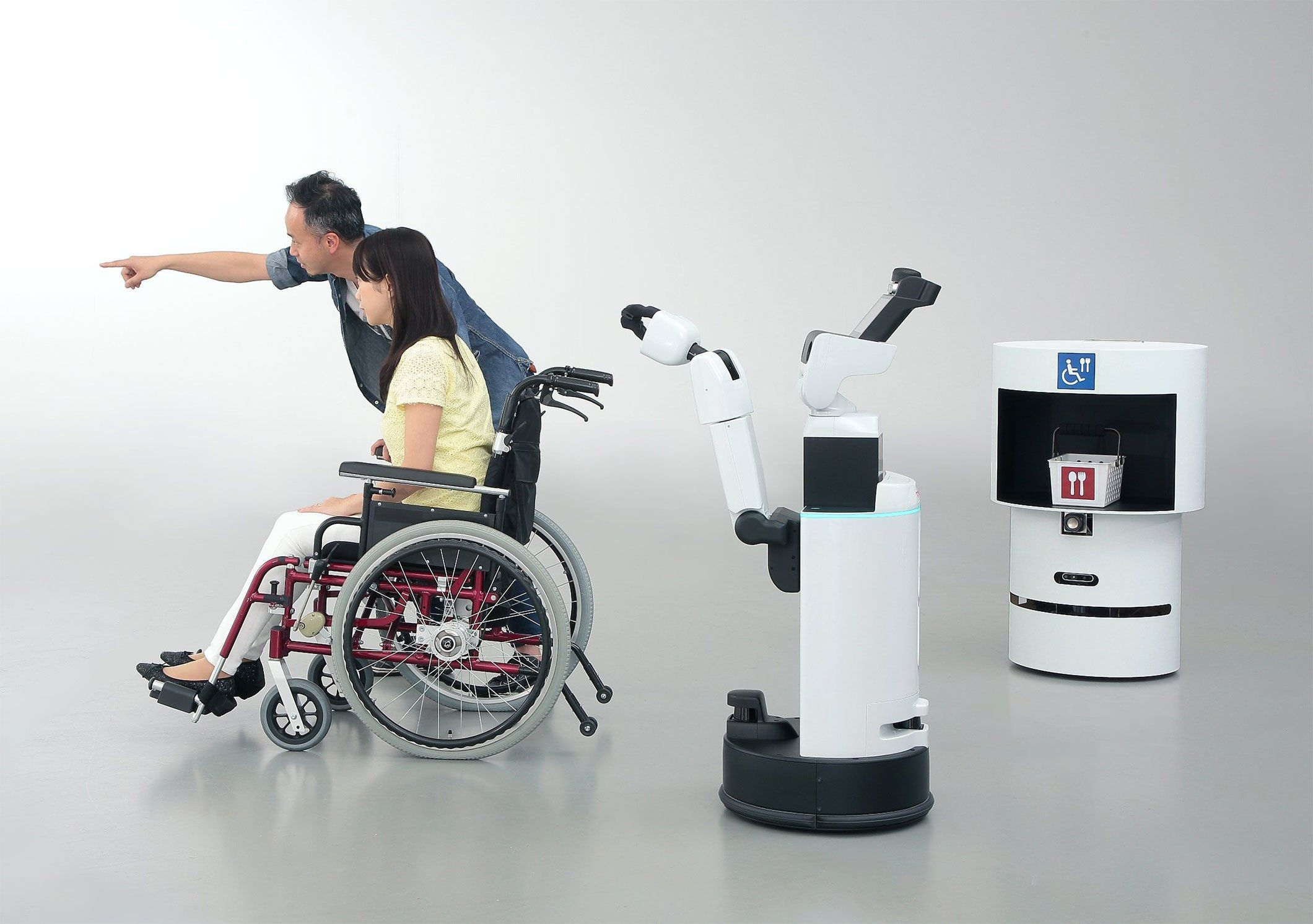Toyota helper robots for the Tokyo 2020 Olympics