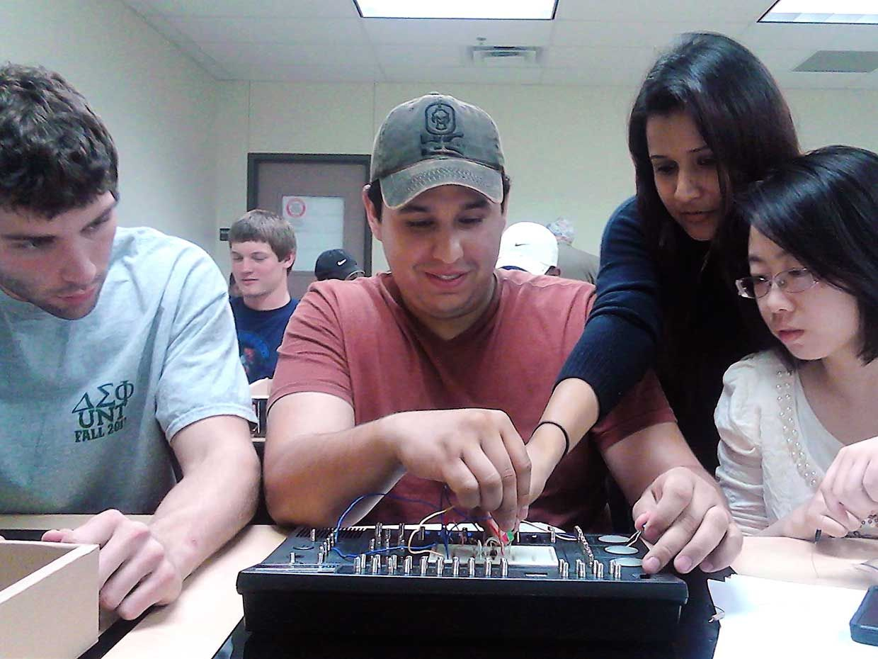 IEEE-Eta Kappa Nu students are among the top 33% of their senior class and top 25% of their junior class earning their first academic degree.
