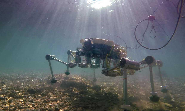 SILVER2 robot underwater