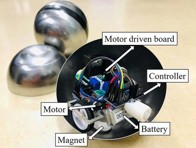 FreeBOT - робот-шар