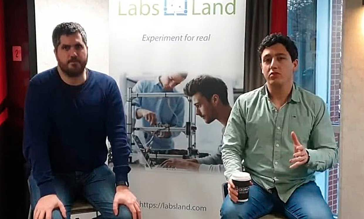 Labsland's founders are IEEE Senior Members Pablo Orduña and Luis Rodriguez-Gil.