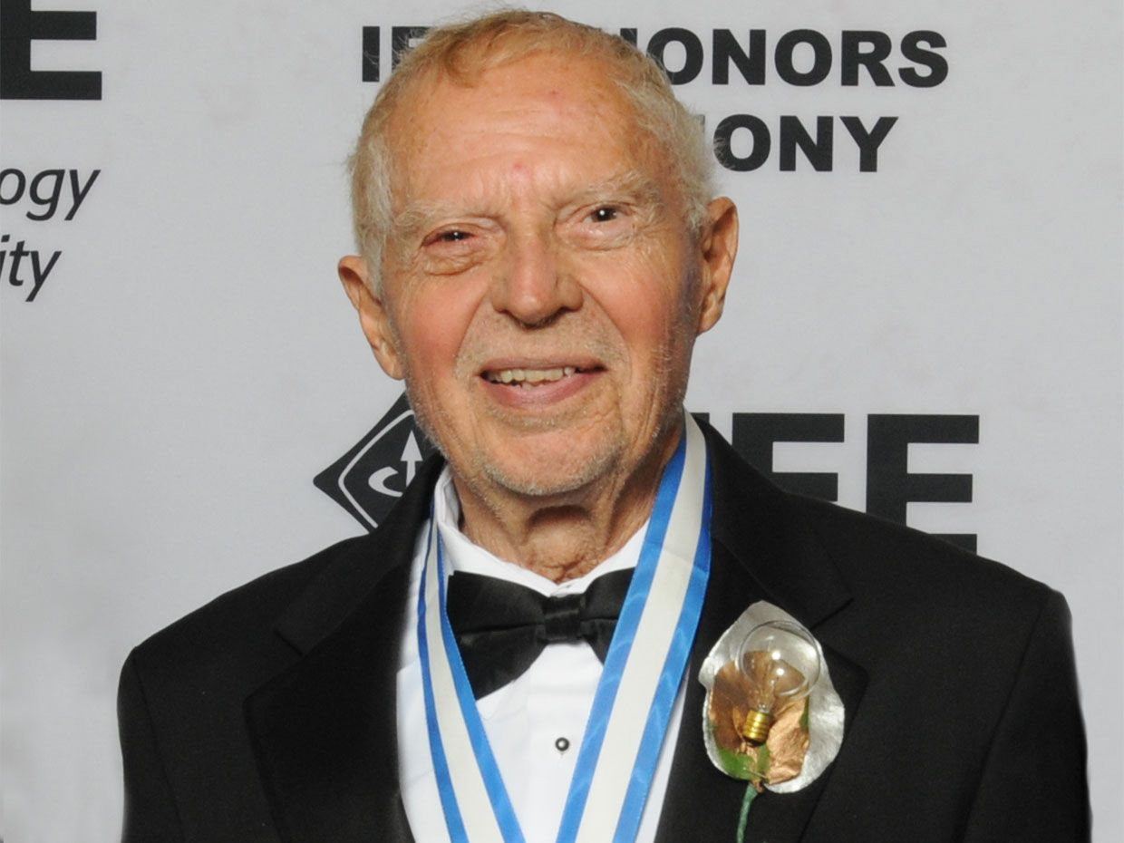 James J. Spilker, Jr. at the 2015 IEEE Honors Ceremony, where he received the IEEE Edison Medal.