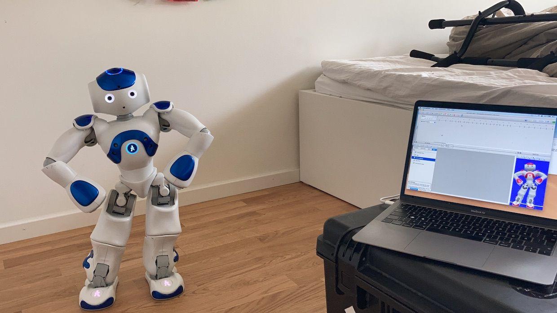Robin Jonsson's Nao robot dancing