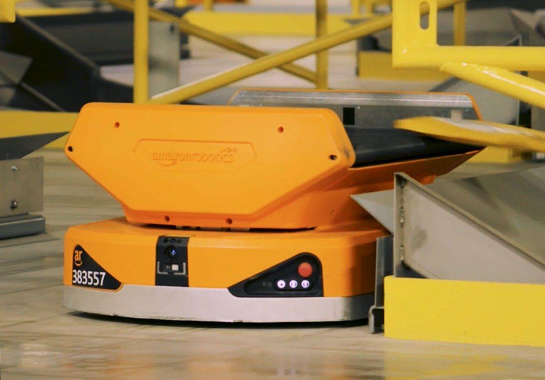 Amazon Pegasus warehouse robot