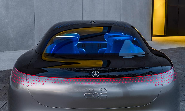 Mercedes Unveils Its Vision EQS Electric Super Car IEEE