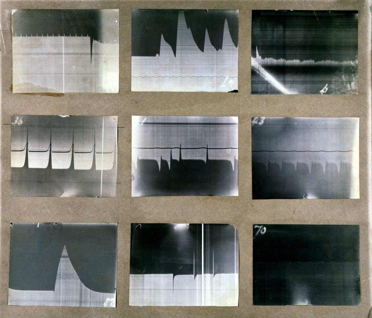 Photographs taken by physiologist Augustus Waller during the cardiology research he carried out at St Mary's Medical School, London, between 1884 and 1903.