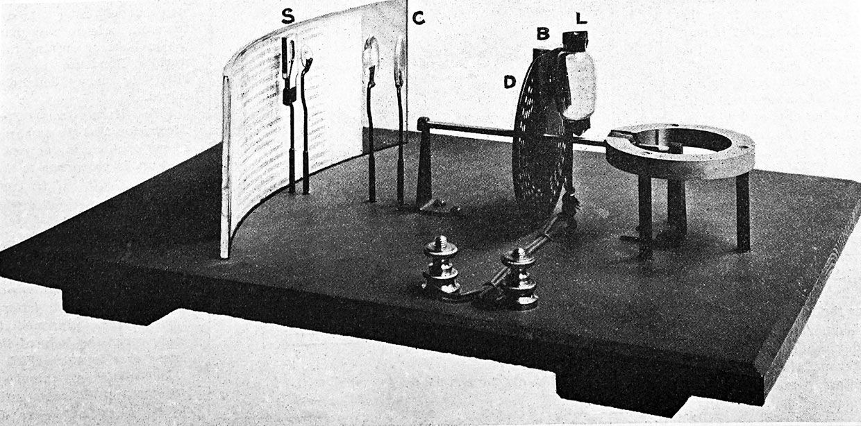 Image of the Optophone
