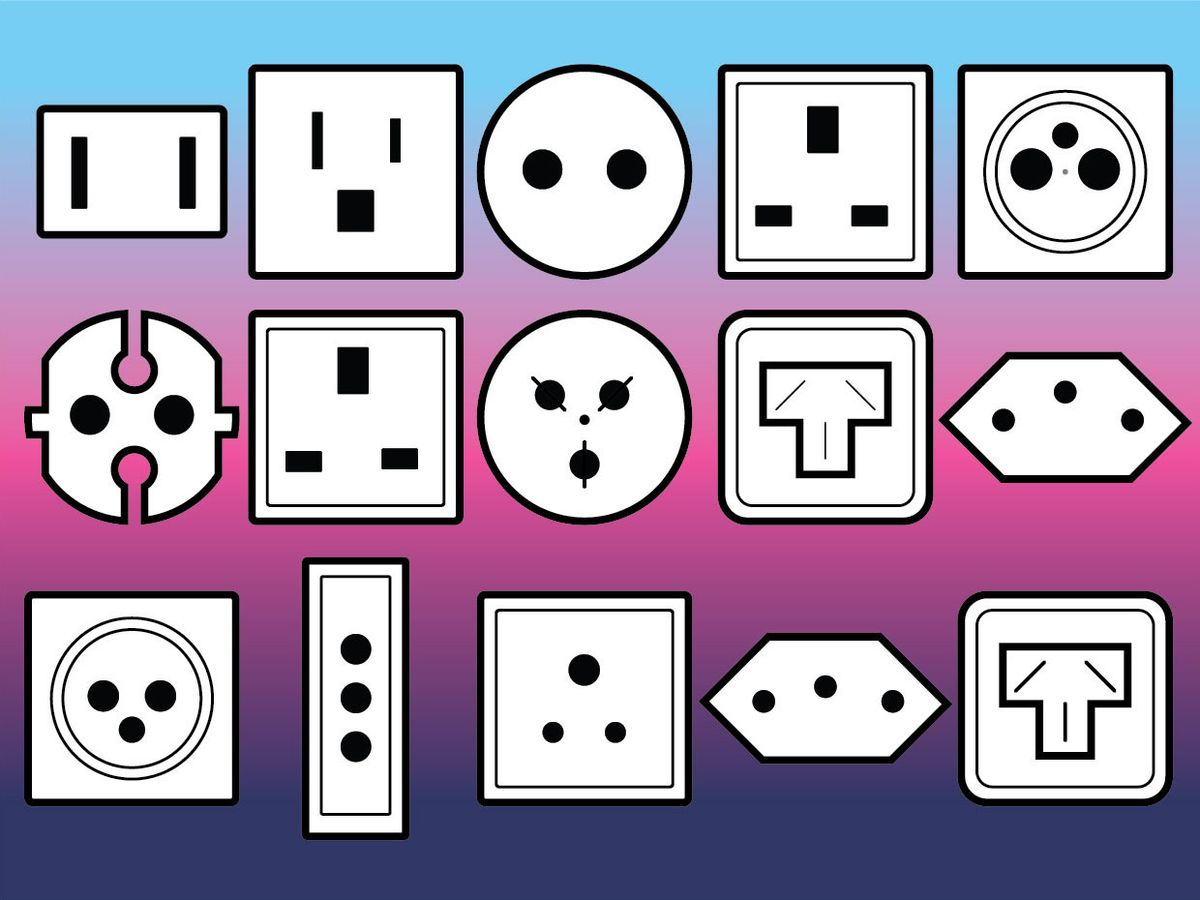 Image of different style plugs.