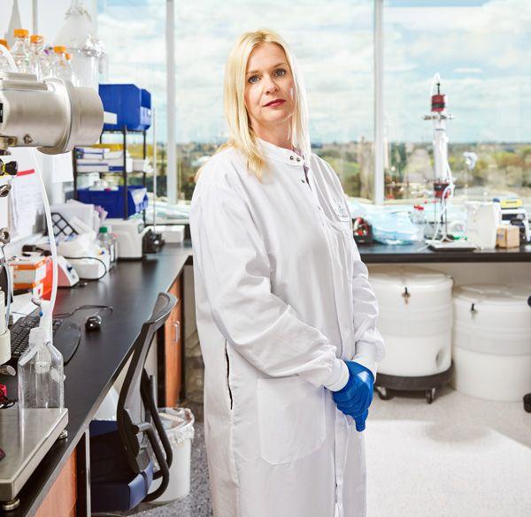 Image of Kate Broderick, Inovio\u2019s senior vice president of R&D.