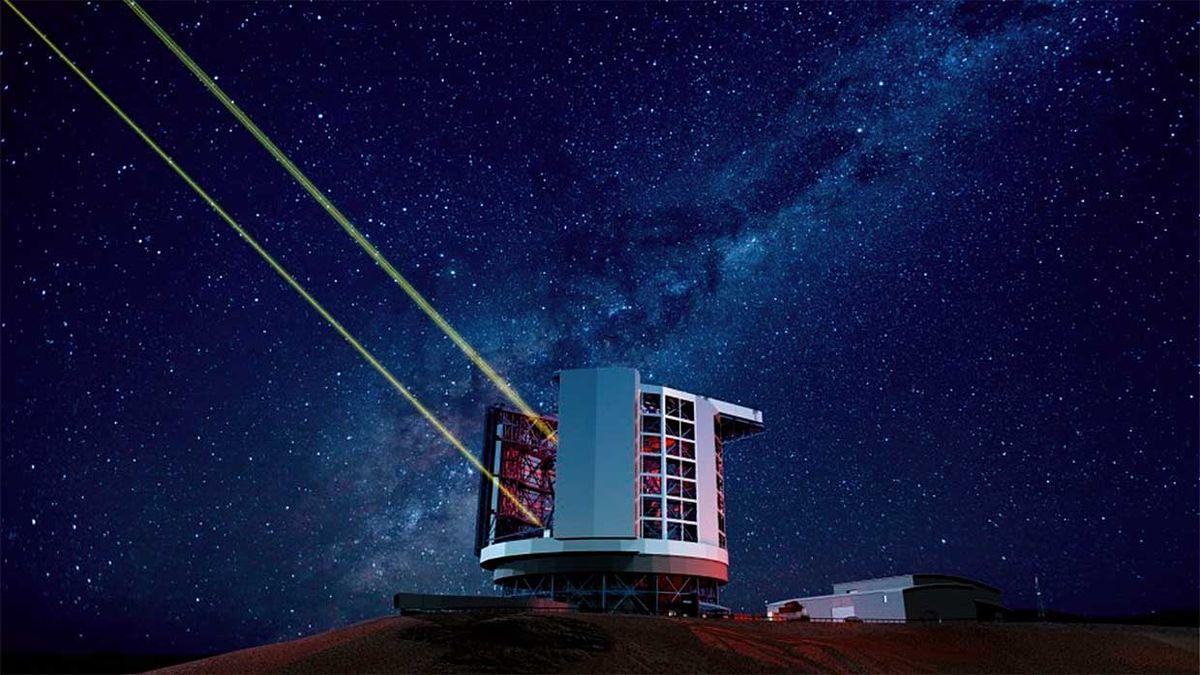 Adaptive Optics and telescope