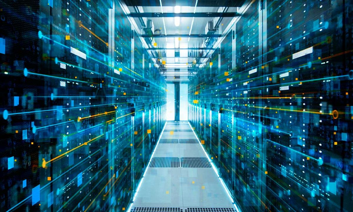 data center interconnects conceptual image