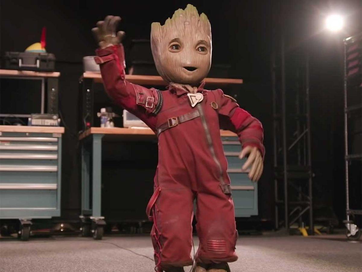 Project Kiwi is a custom bipedal human robot. This robot looks like Groot