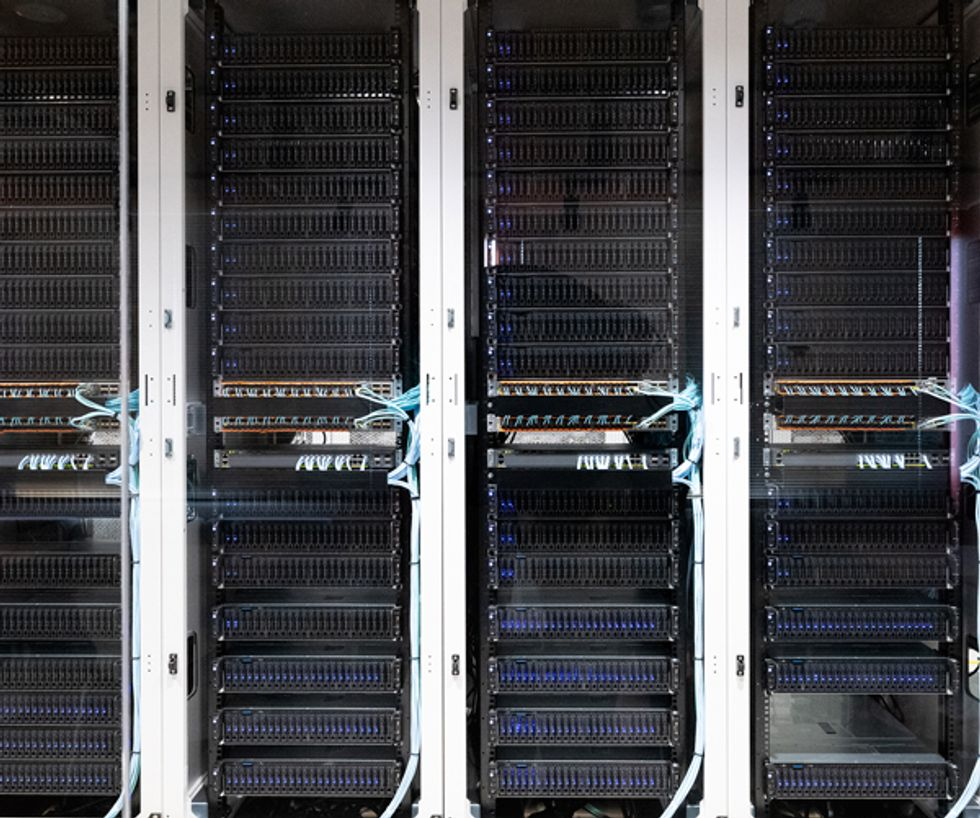Image of servers for cloud-native network.
