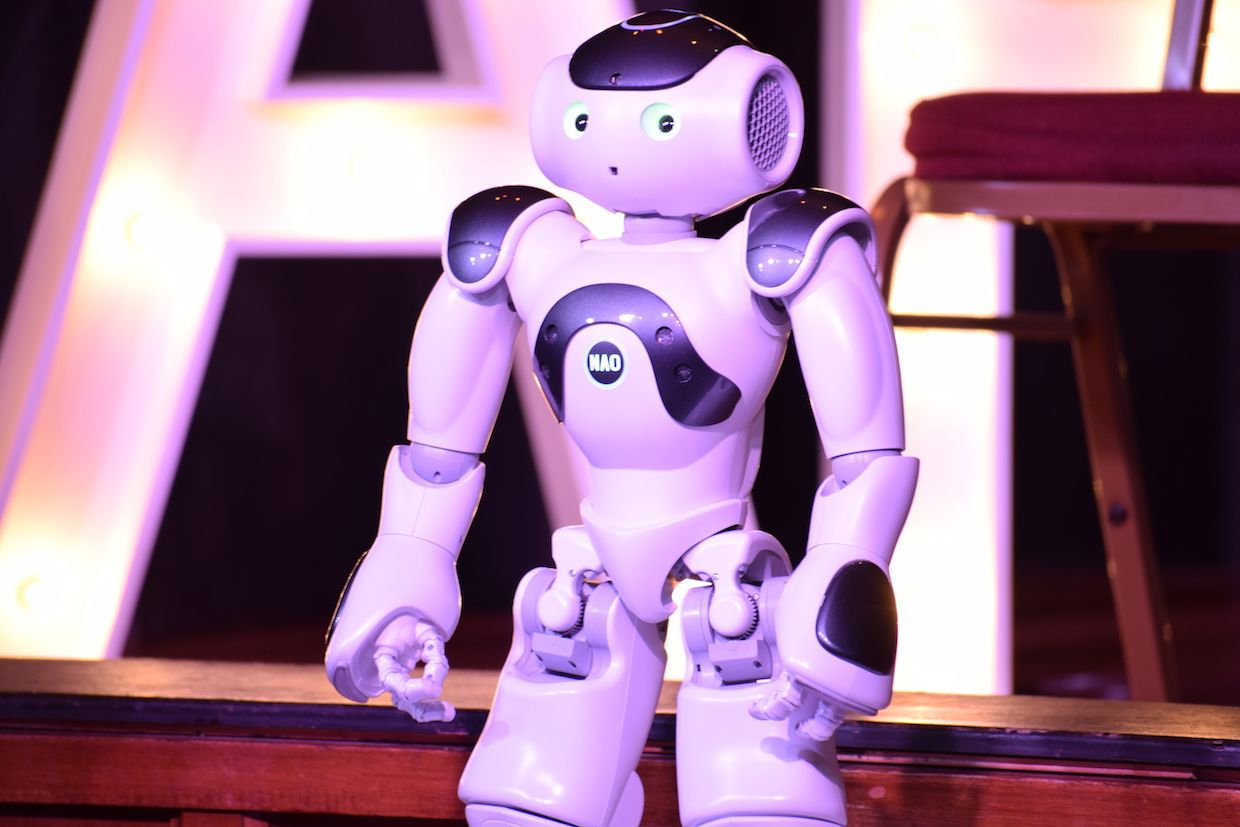 What's the Deal With Robot Comedy?