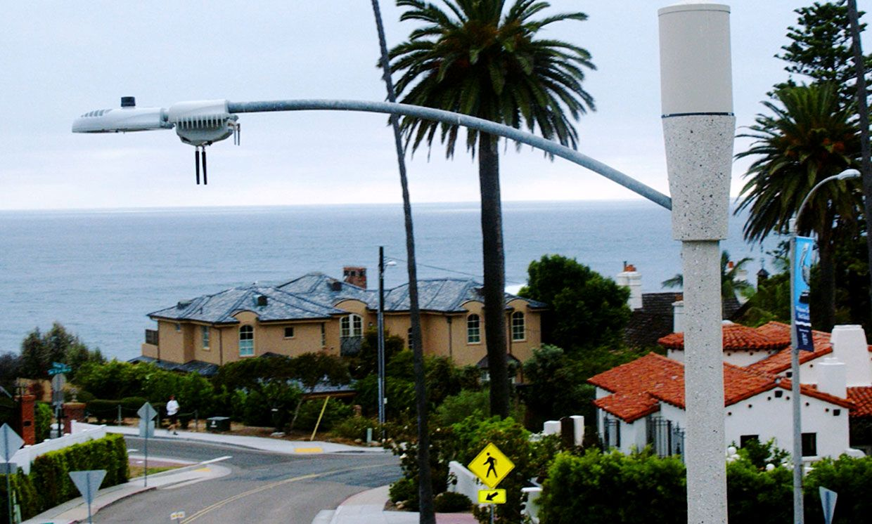 San Diego smart streetlight