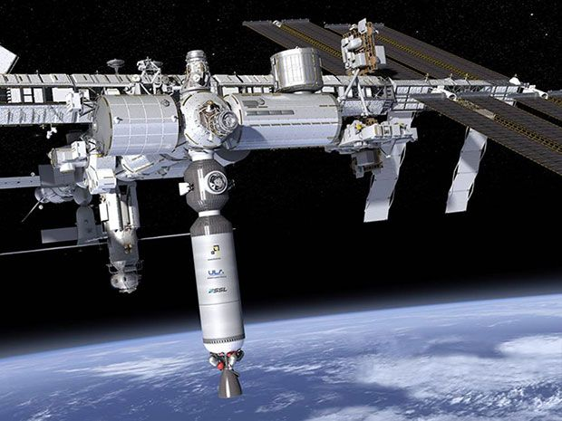 Ixion docked with ISS