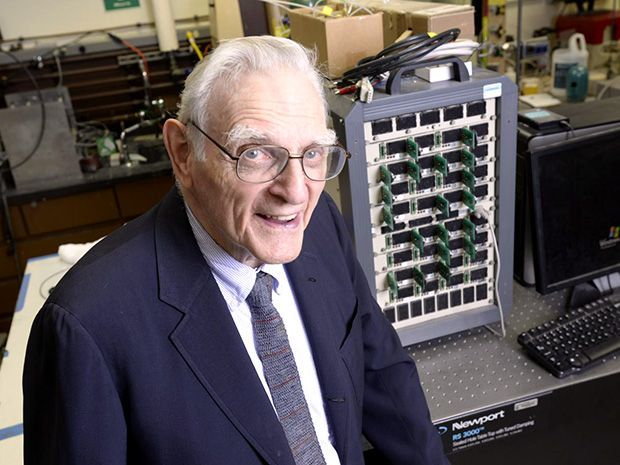 John Goodenough, coinventor of the lithium-ion battery, heads a team of researchers developing the technology that could one day supplant it.