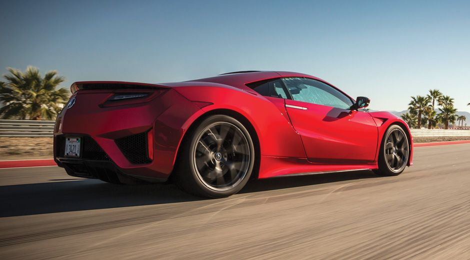 The 2017 Acura Nsx A Hybrid Supercar Ieee Spectrum
