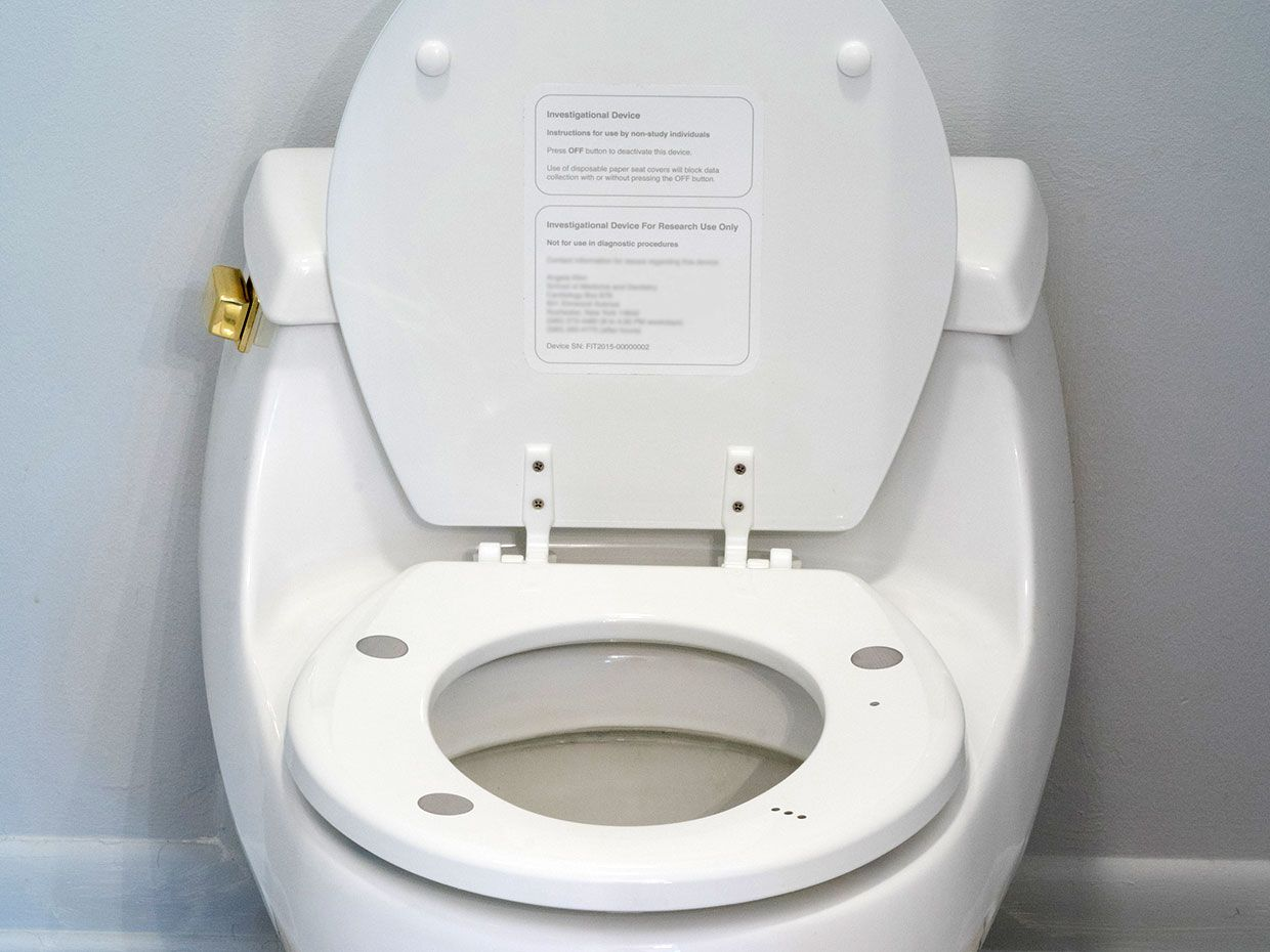 Superb Monitoring Heart Health One Toilet Seat At A Time Ieee Dailytribune Chair Design For Home Dailytribuneorg
