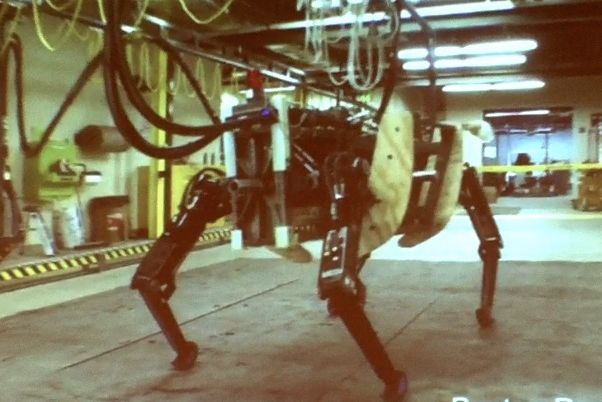 boston dynamics ls3 bulldog robot quadruped