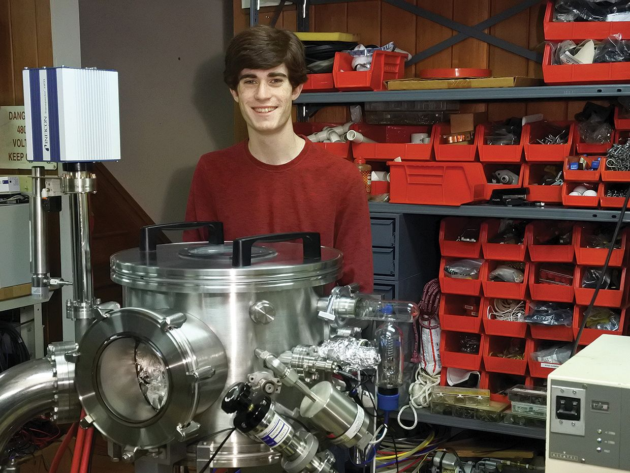 The High School Student Who's Building His Own Integrated Circuits