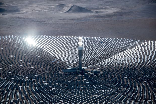 A Tower Of Molten Salt Will Deliver Solar Power After