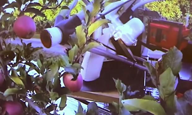 Sri Spin Off Abundant Robotics Developing Autonomous Apple
