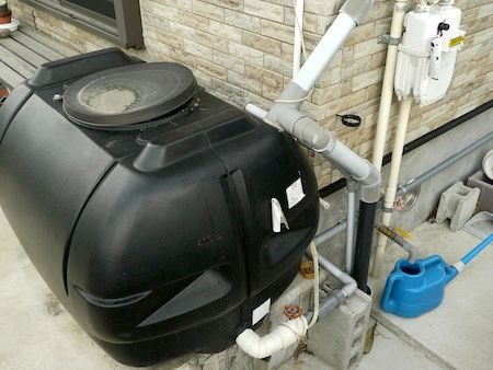 masaaki kumagai water tank at home