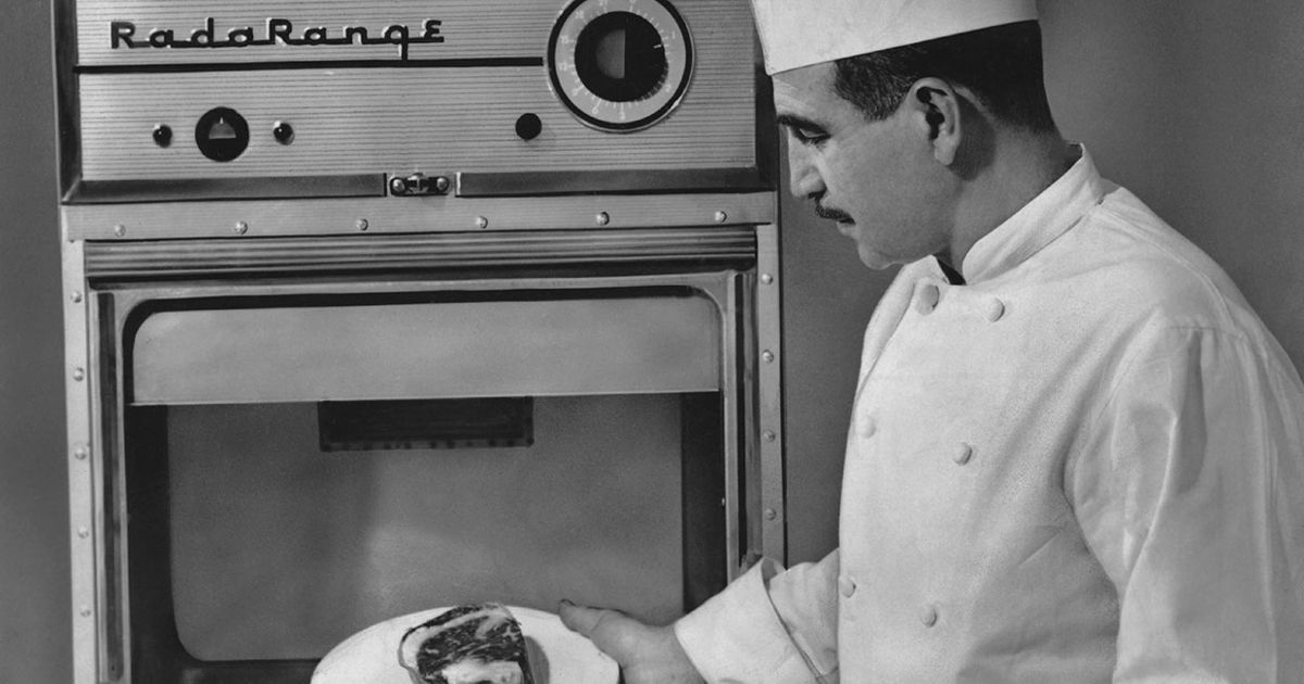 A History Of The Microwave Oven